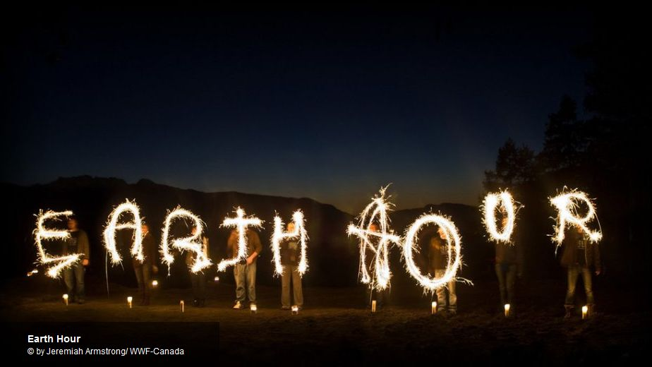 Earthhour Jeremiah Armstrong WWF Canada
